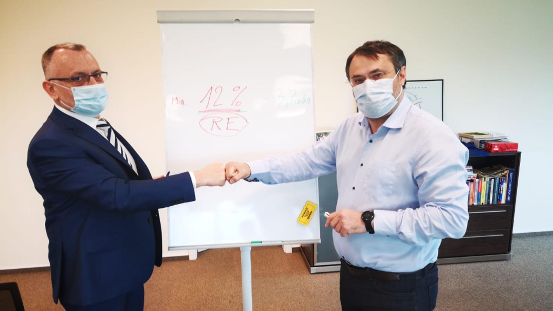 Sorin Cîmpeanu și Cristian Ghinea