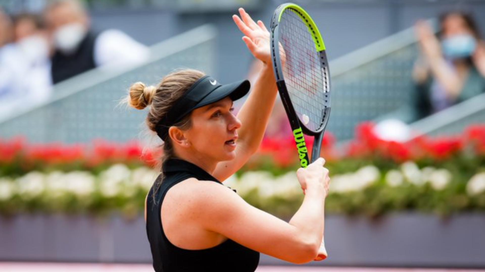 Simona Halep, primul mesaj după ce a abandonat Turneul de la Roma
