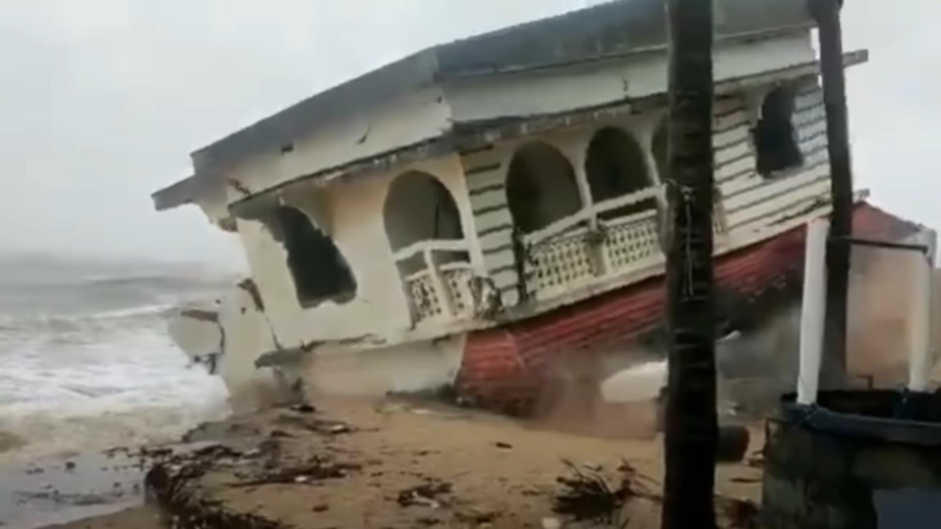 Dezastru în India. Foto: captură YouTube