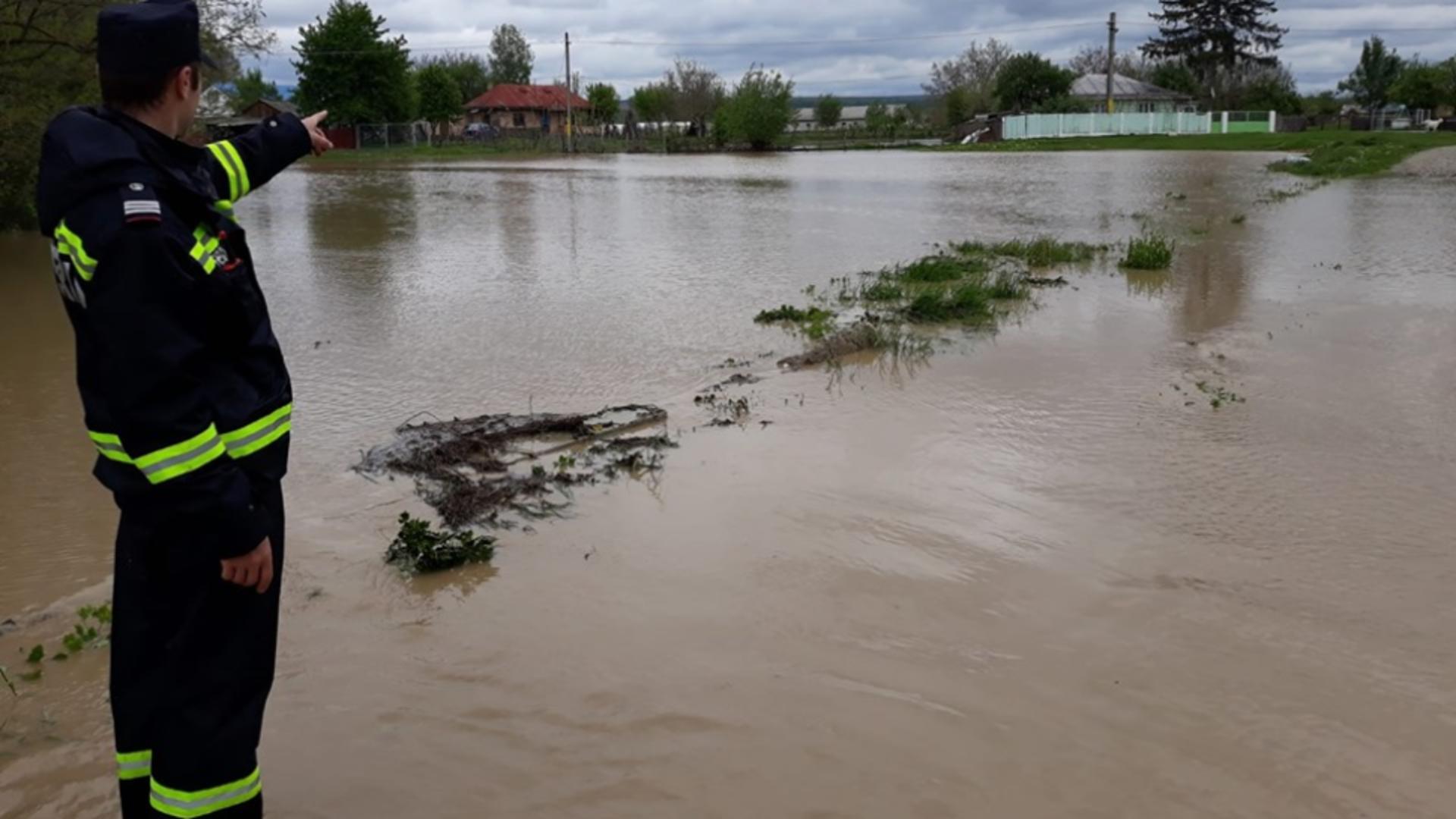 Hidrologii au emis o atenționare cod galben de inundații / Foto: Arhivă ISU