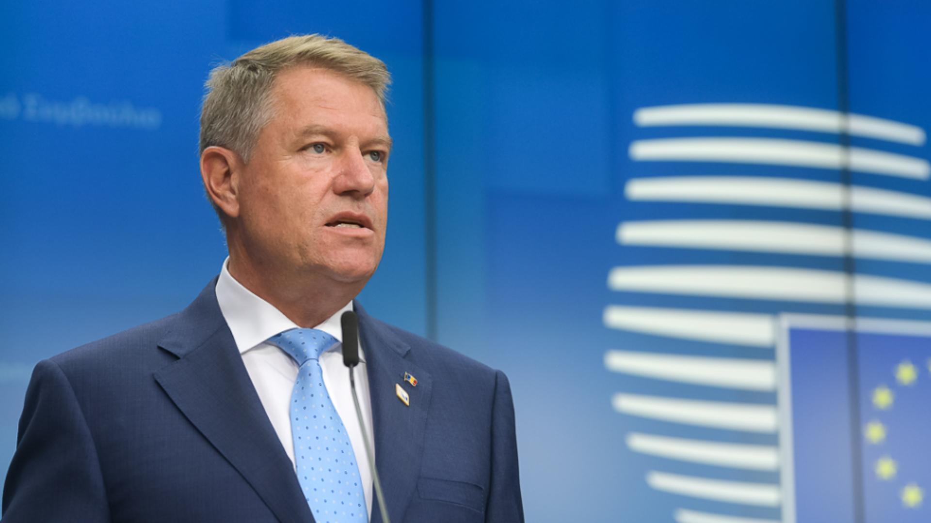 Klaus Iohannis, vizită la Bruxelles, în 24-25 mai - Președintele va susține certificatul de vaccinare COVID-19 la Consiliul European