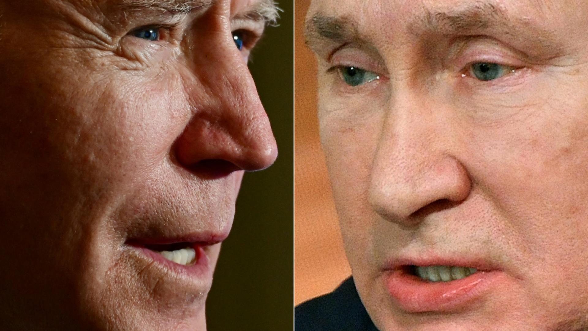 Joe Biden, Vladimir Putin / Foto: Profimedia