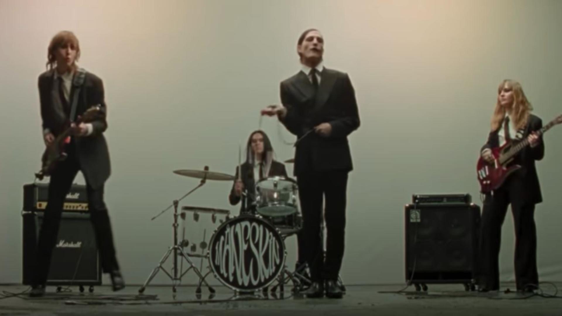 Formația rock Maneskin, câștigătoarea Eurovision 2021/Foto/Captură video