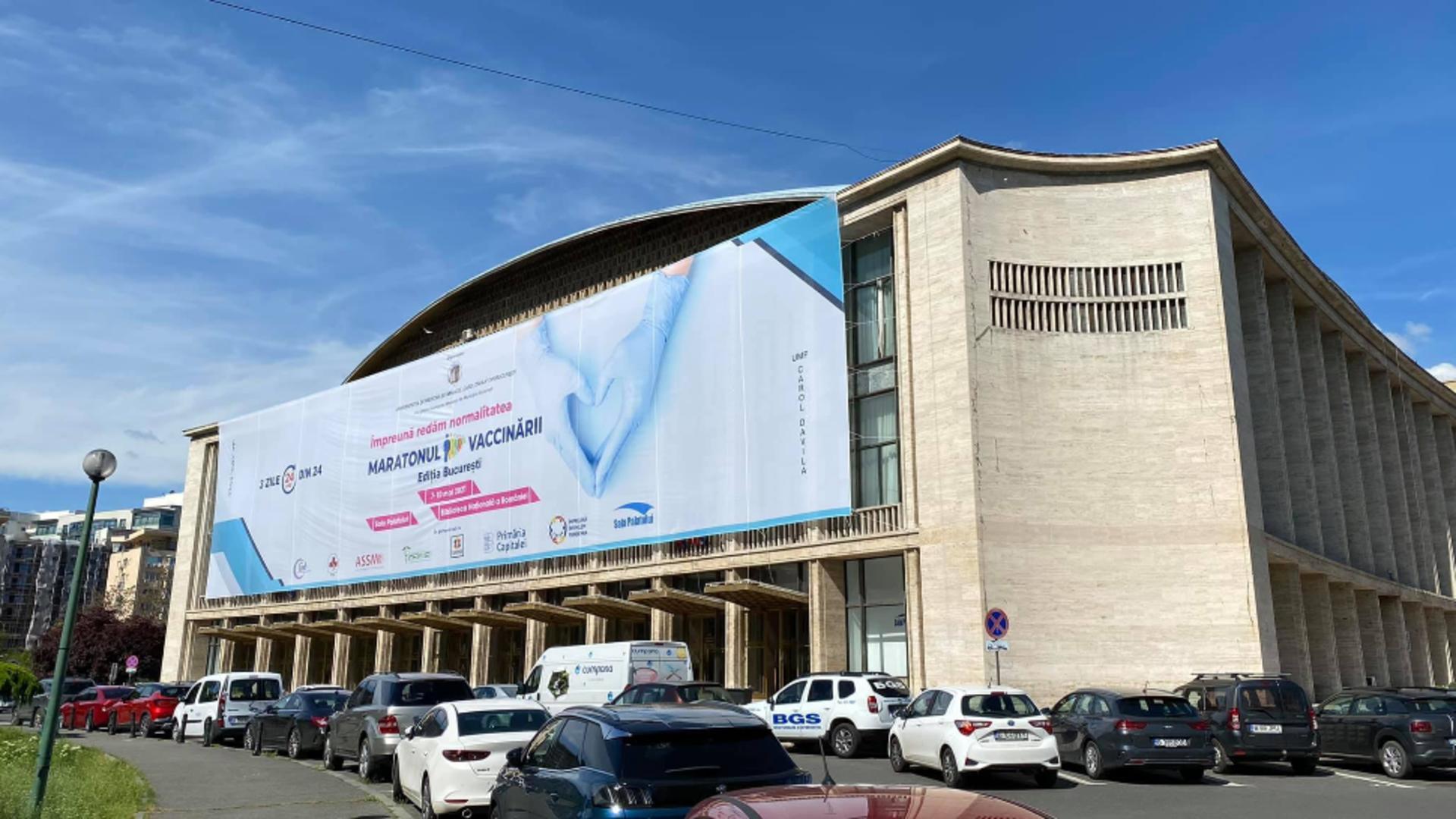 Maratonul vaccinării București