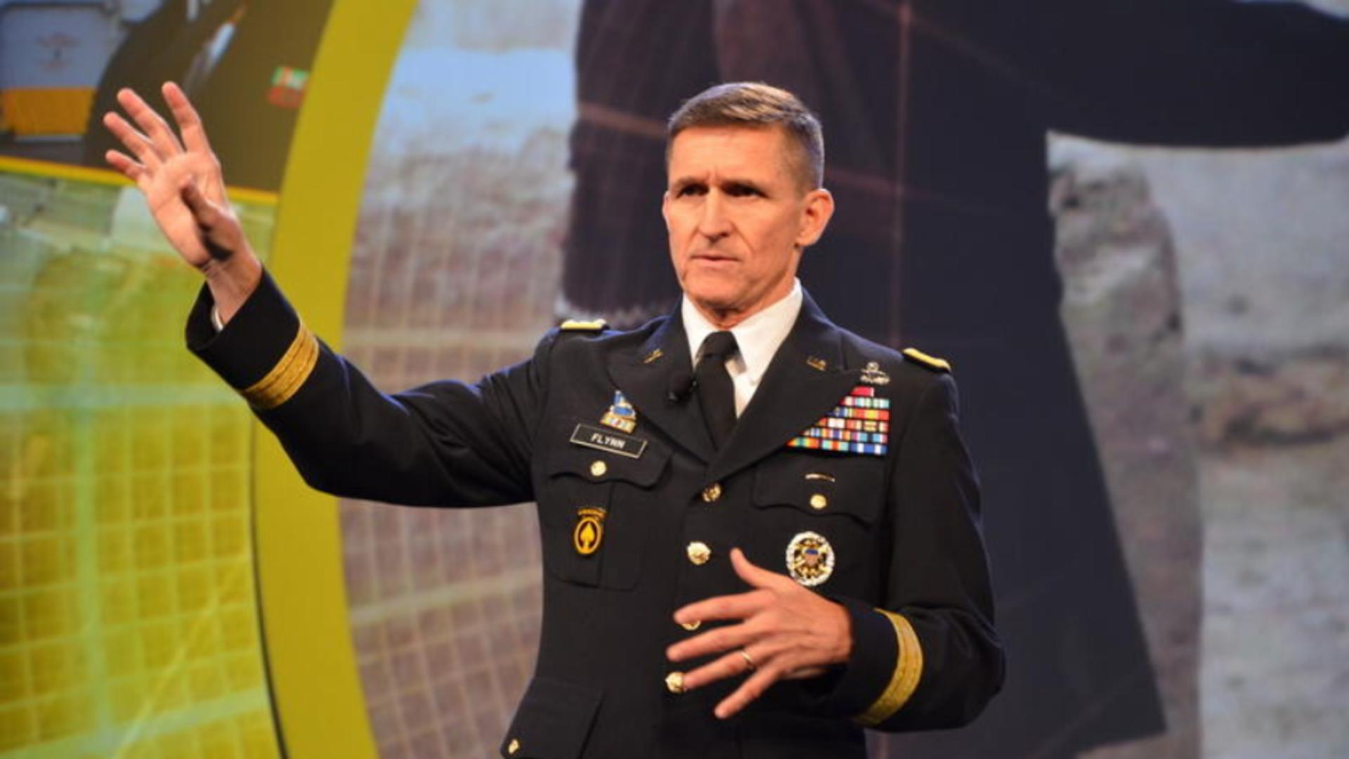 Michael Flynn, fost consilier pe Securitate al lui Donald Trump (captură video)