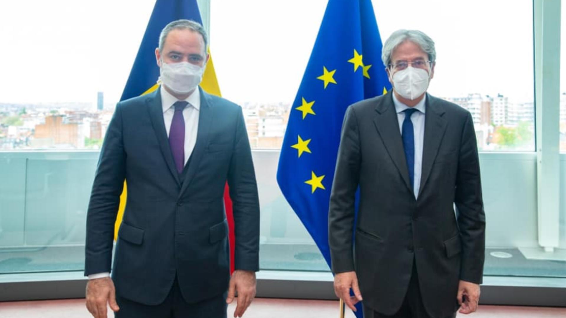 Ministrul Alexandru Nazare, despre bugetul României după întâlnirea cu comisarul european pentru economie Foto: Facebook.com