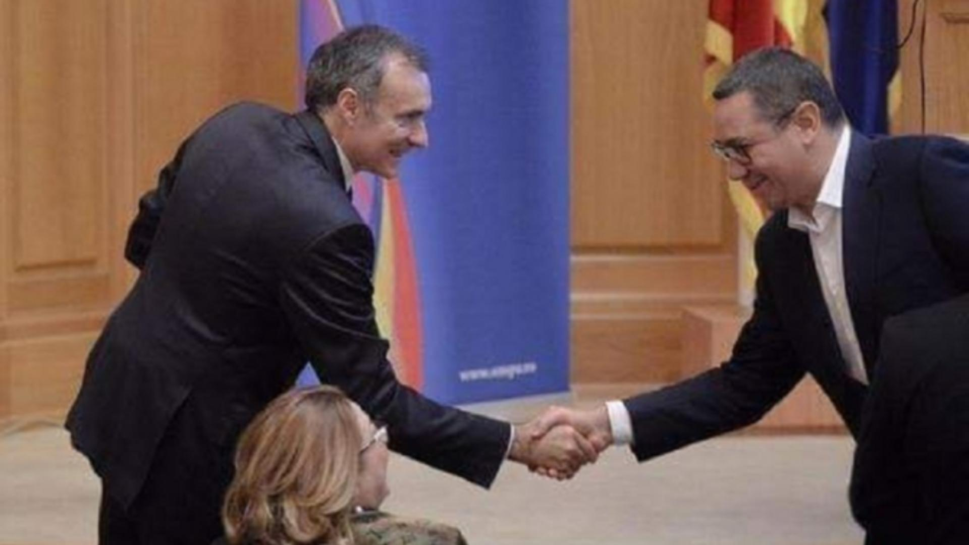 Florian Coldea si Victor Ponta - arhiva foto