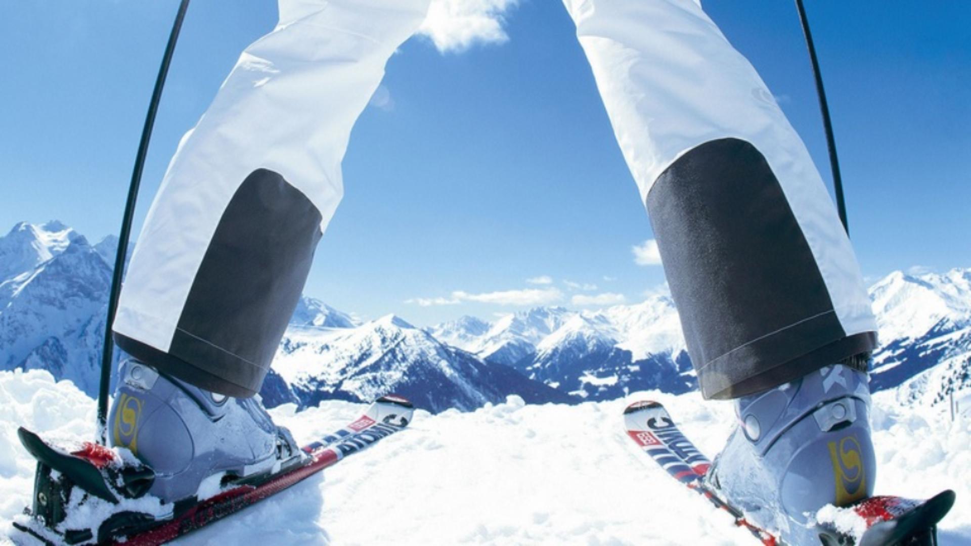 Pârtie de schi în Austria
