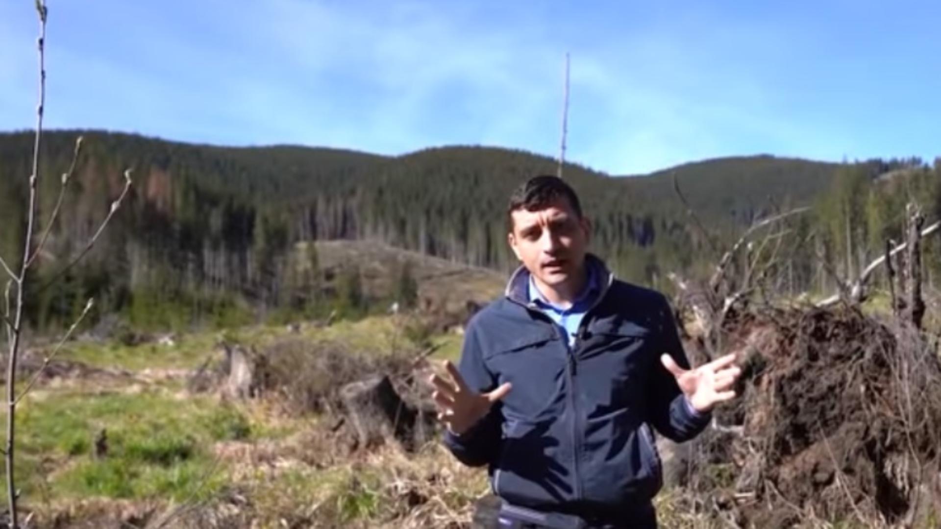 George Simion, acuzații grave după ANCHETA pe moșia de 75 de hectare a lui Florin Cîțu, de 12 milioane de euro Foto: captură video Facebook