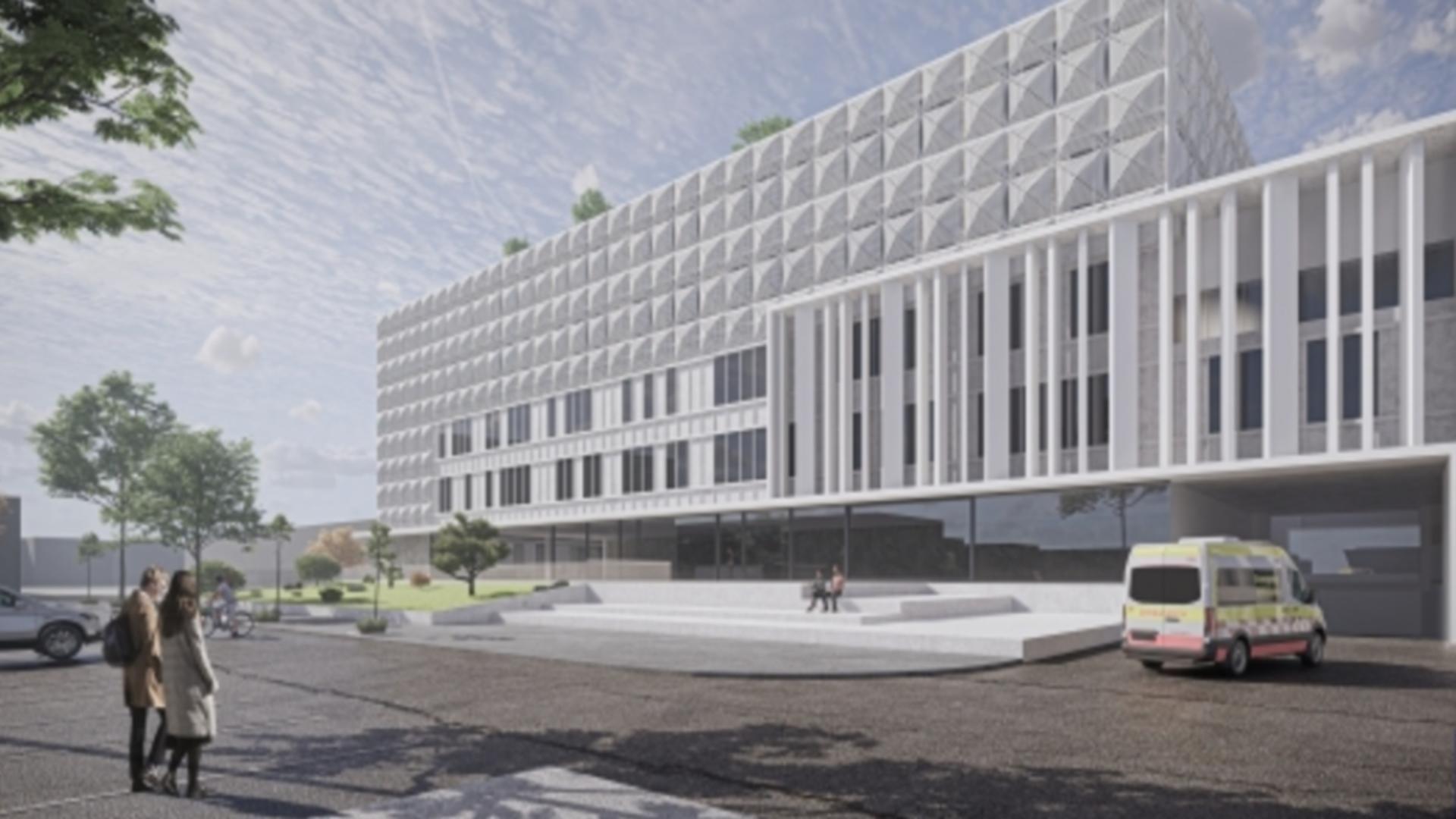 Spital modern de boli infecțioase, la Oradea. Foto: Realitatea de Oradea