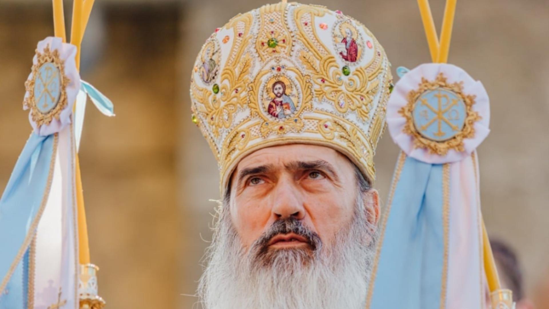 ÎPS Teodosie, acuzații dure la vârful Bisericii Ortodoxe în legătură cu vaccinarea împotriva COVID-19