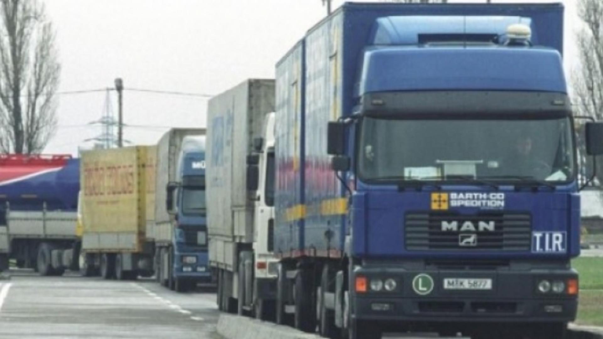 Un șofer român de TIR a fost ucis cu o sabie / Foto: Arhivă