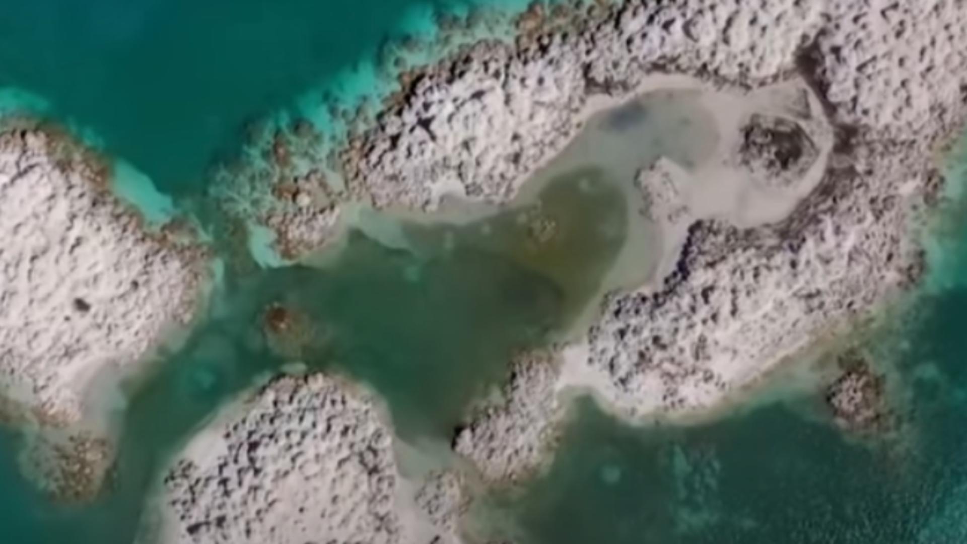 Lacul Salda. Foto: captură YouTube