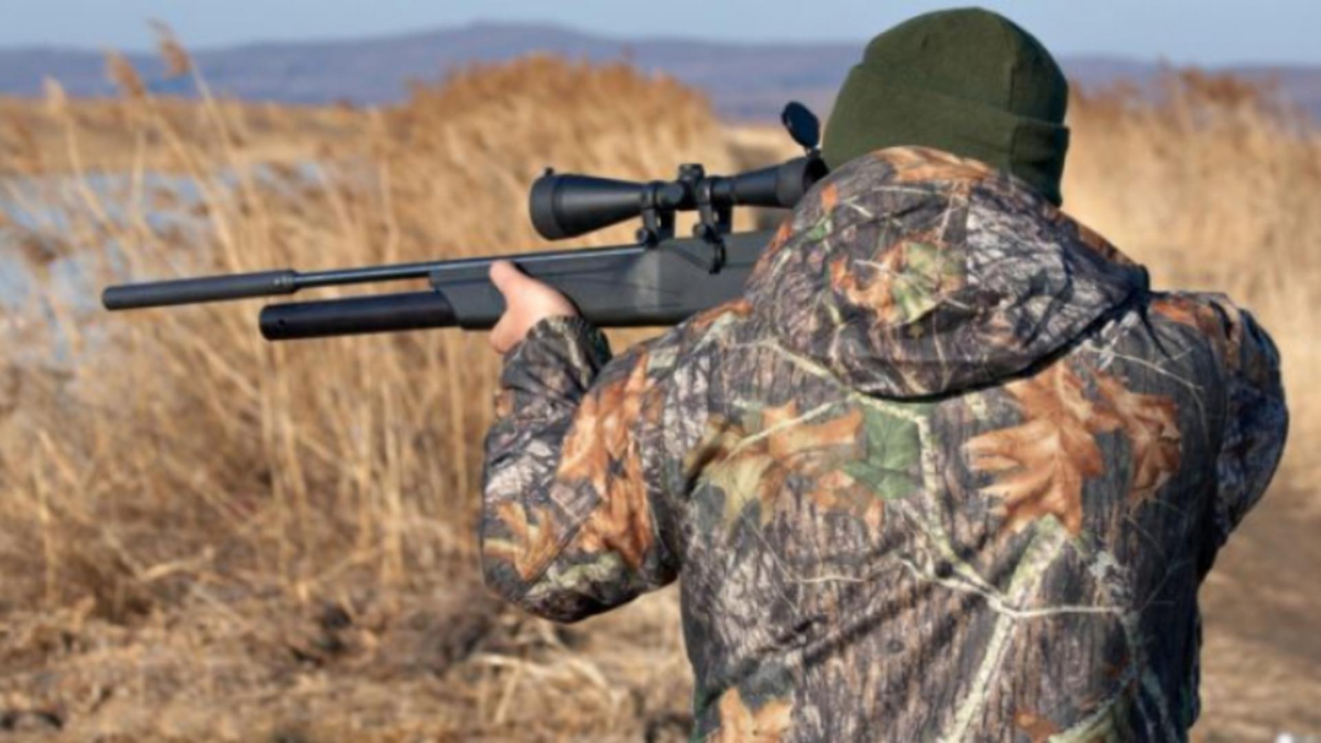 Vânătorul a fost sancționat cu amendă