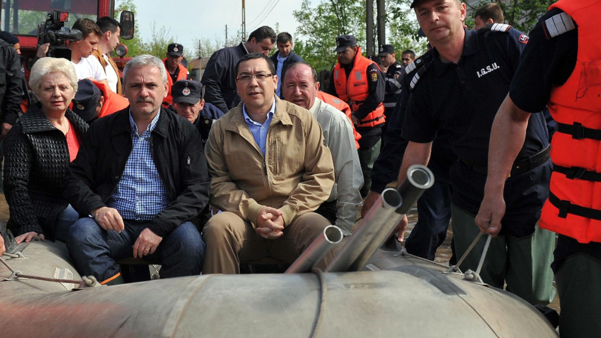 Dragnea și Ponta, sursă de inspirație în Crimeea