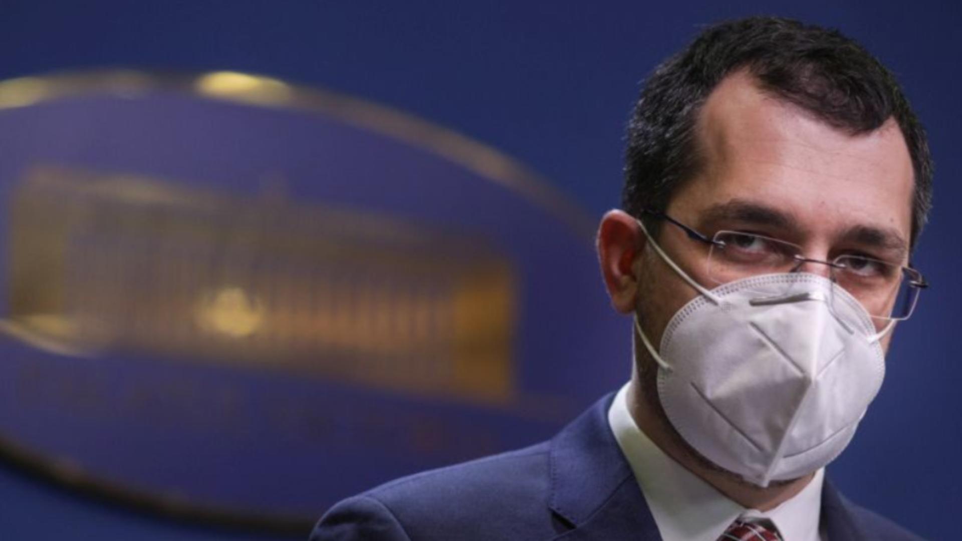 Fostul ministru al Sănătății, Vlad Voiculescu. Foto: Inquam