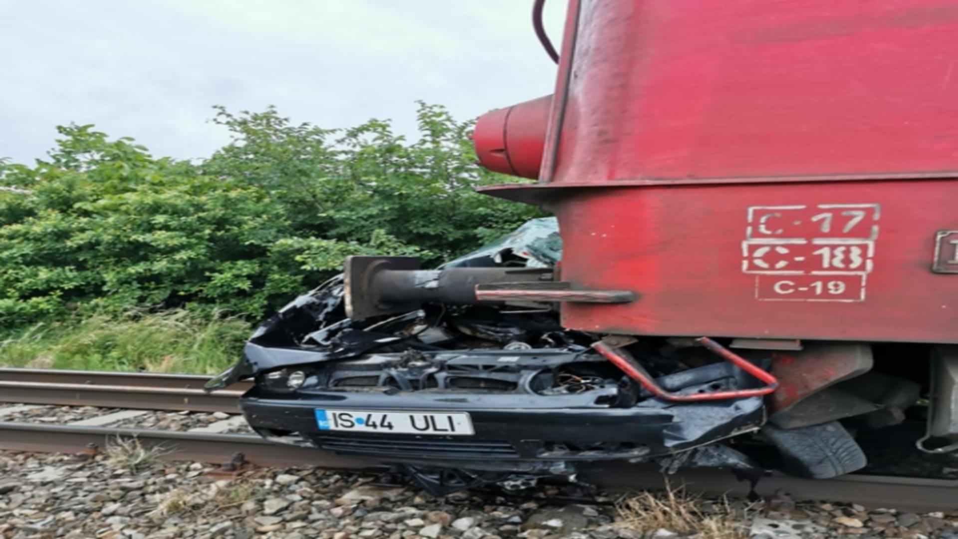 Accident feroviar Iași