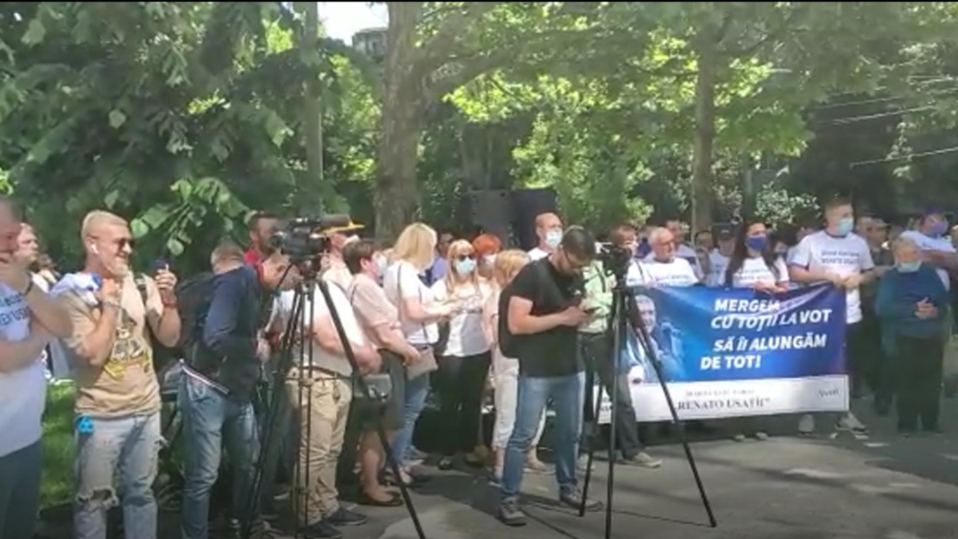 Miting protest Chișinău