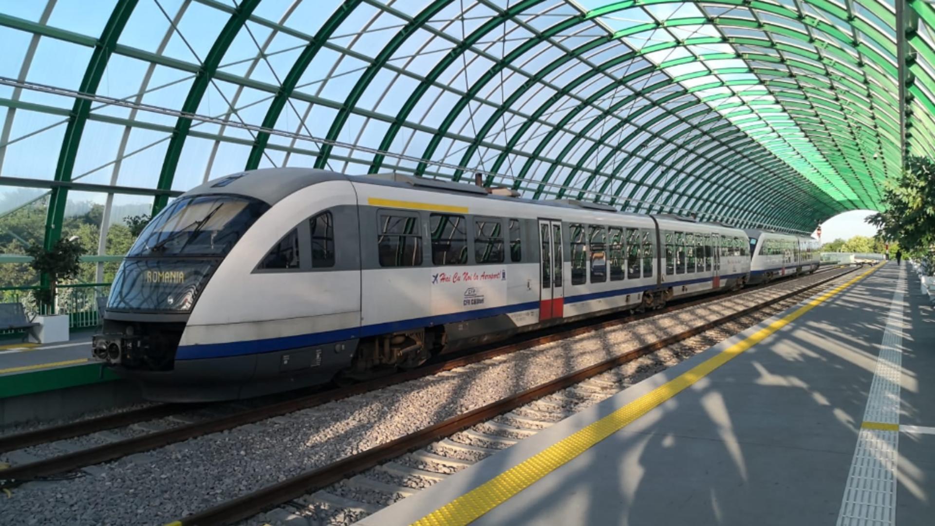 Tren Gara de Nord- Otopeni