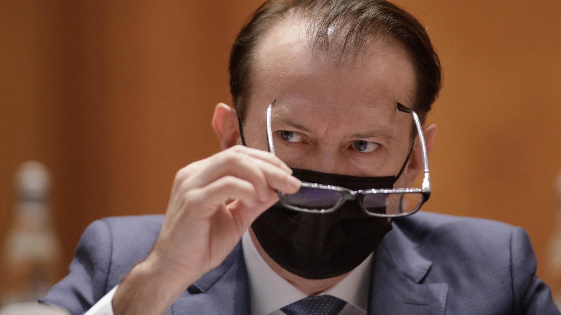 Florin Cîțu, prim-ministrul României / Foto: Inquam Photos / George Calin