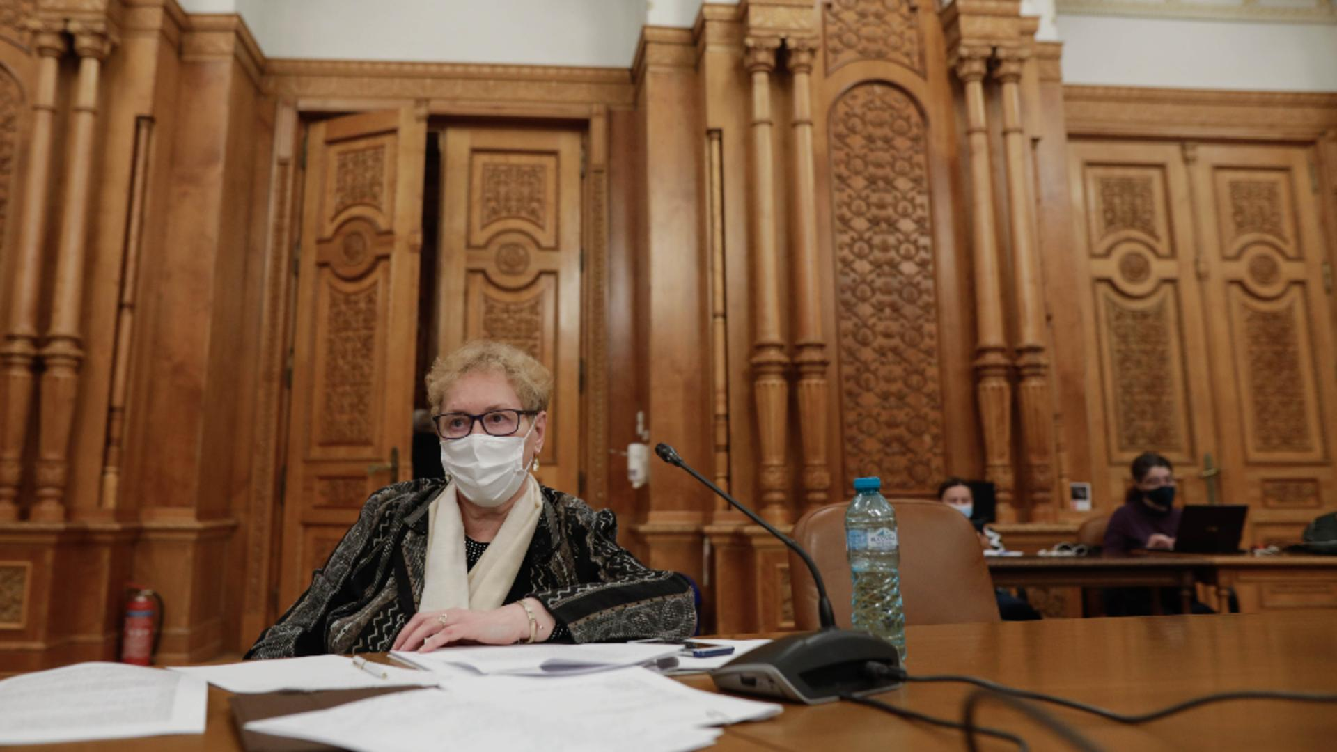 Renate Weber. Foto: Inquam Photos / George Călin