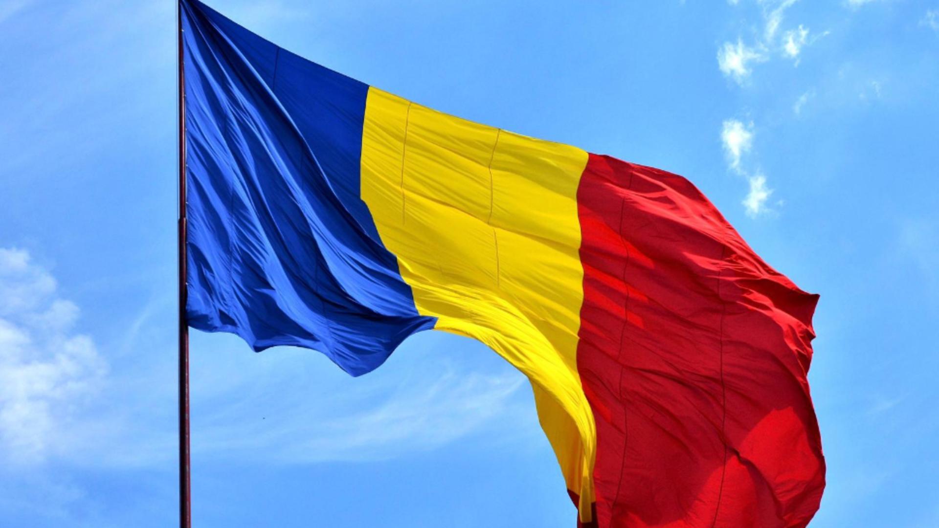 Drapelul României / Foto: Facebook Guvernul României
