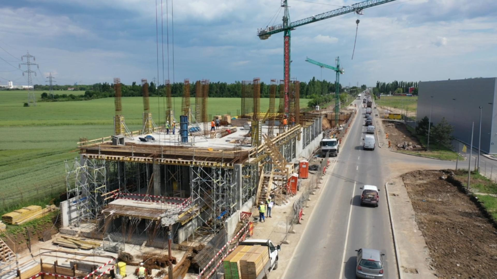 Construcție extindere linie metrou M2 / Foto: Facebook Daniel Băluță