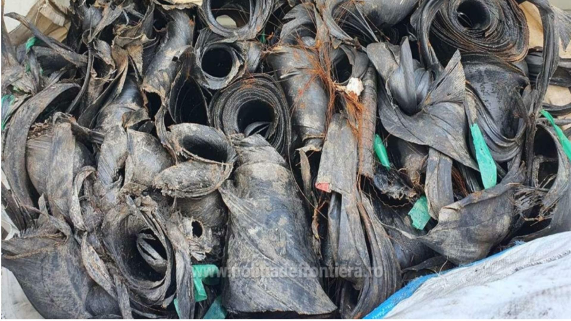 Containere deșeuri, Port Constanța