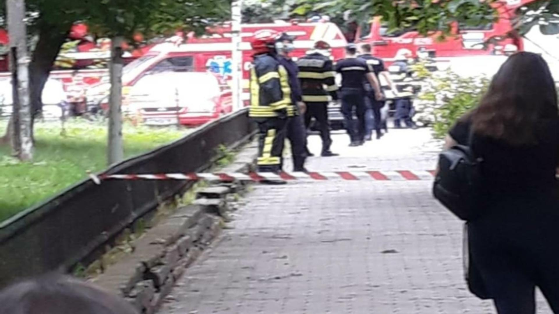 Incident tragic în Slatina