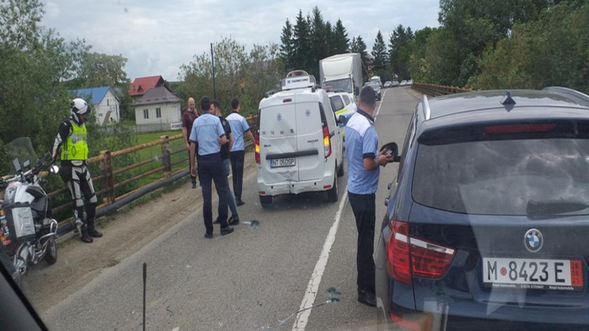 Accident mașină DSP