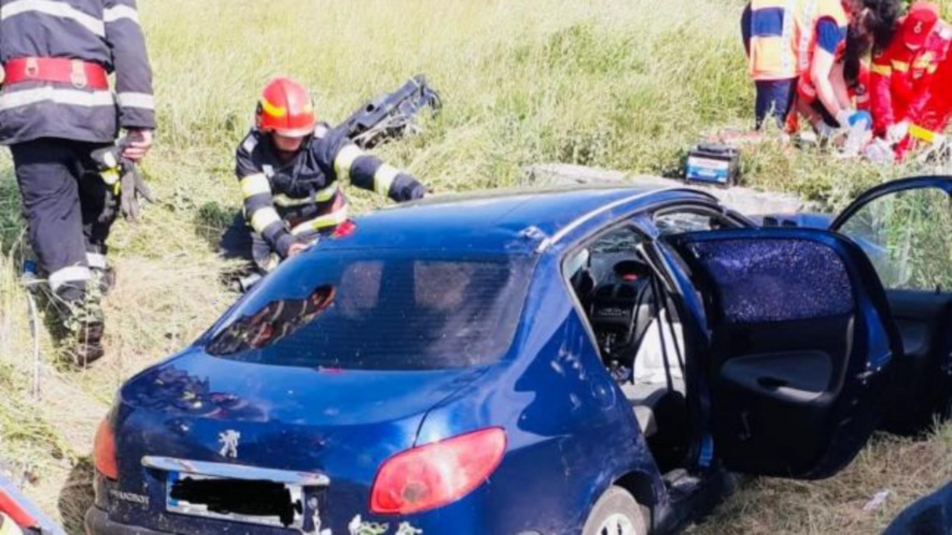 Un accident cumplit a avut loc în județul Gorj
