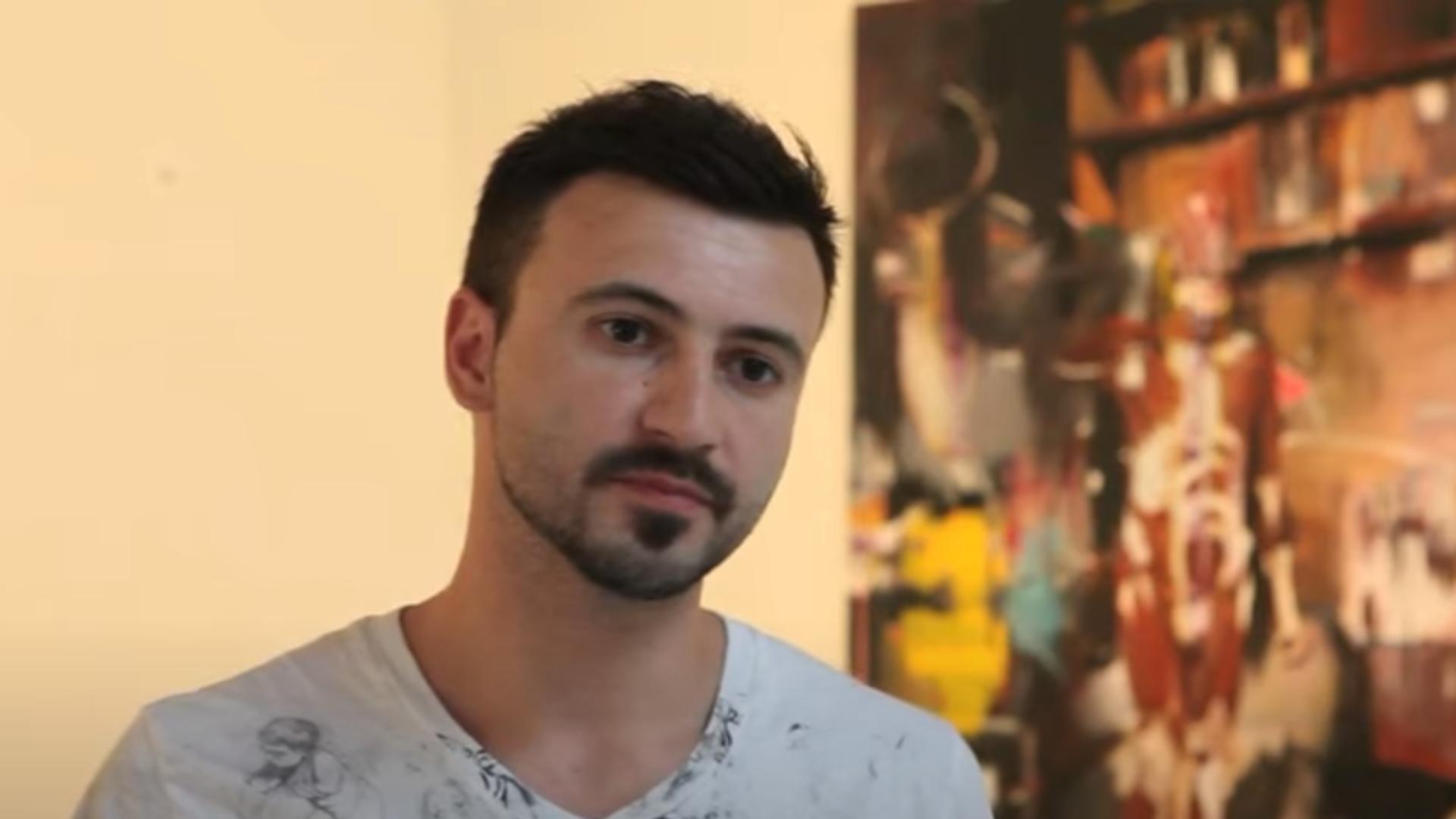 Adrian Ghenie. Foto: captură Youtube