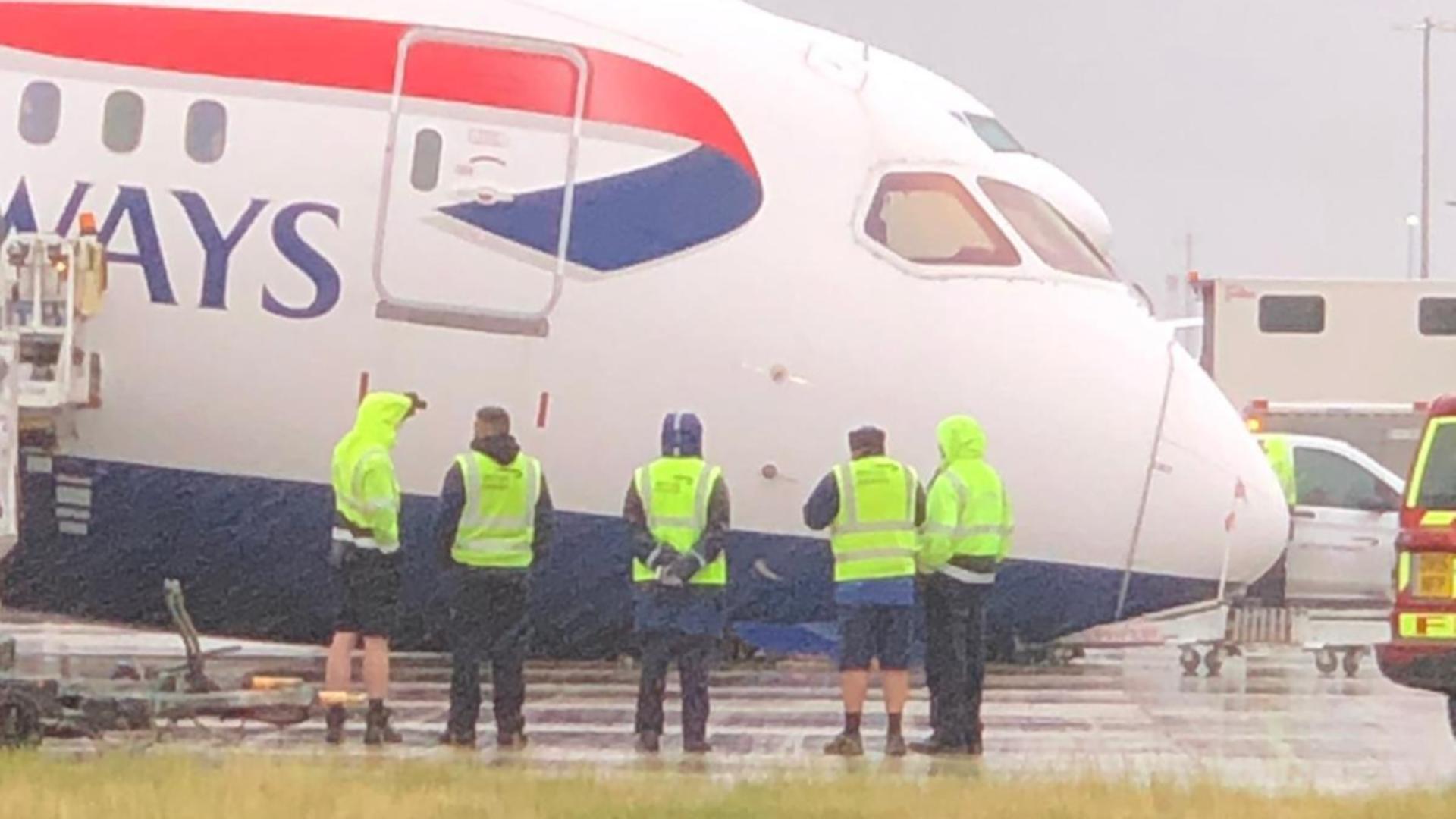 Incident grav pe aeroportul londonez Heathrow (captură video)