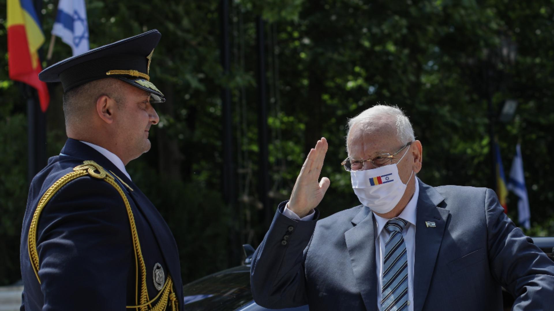 Președintele Israelului, Reuven Rivlin / Foto: Inquam