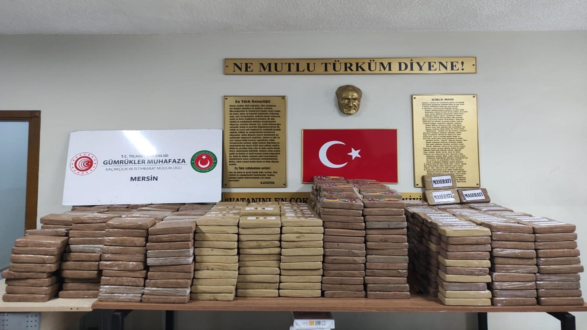 Cocaină / Foto: Twitter Mehmet Mus, ministrul Comerţului din Turcia