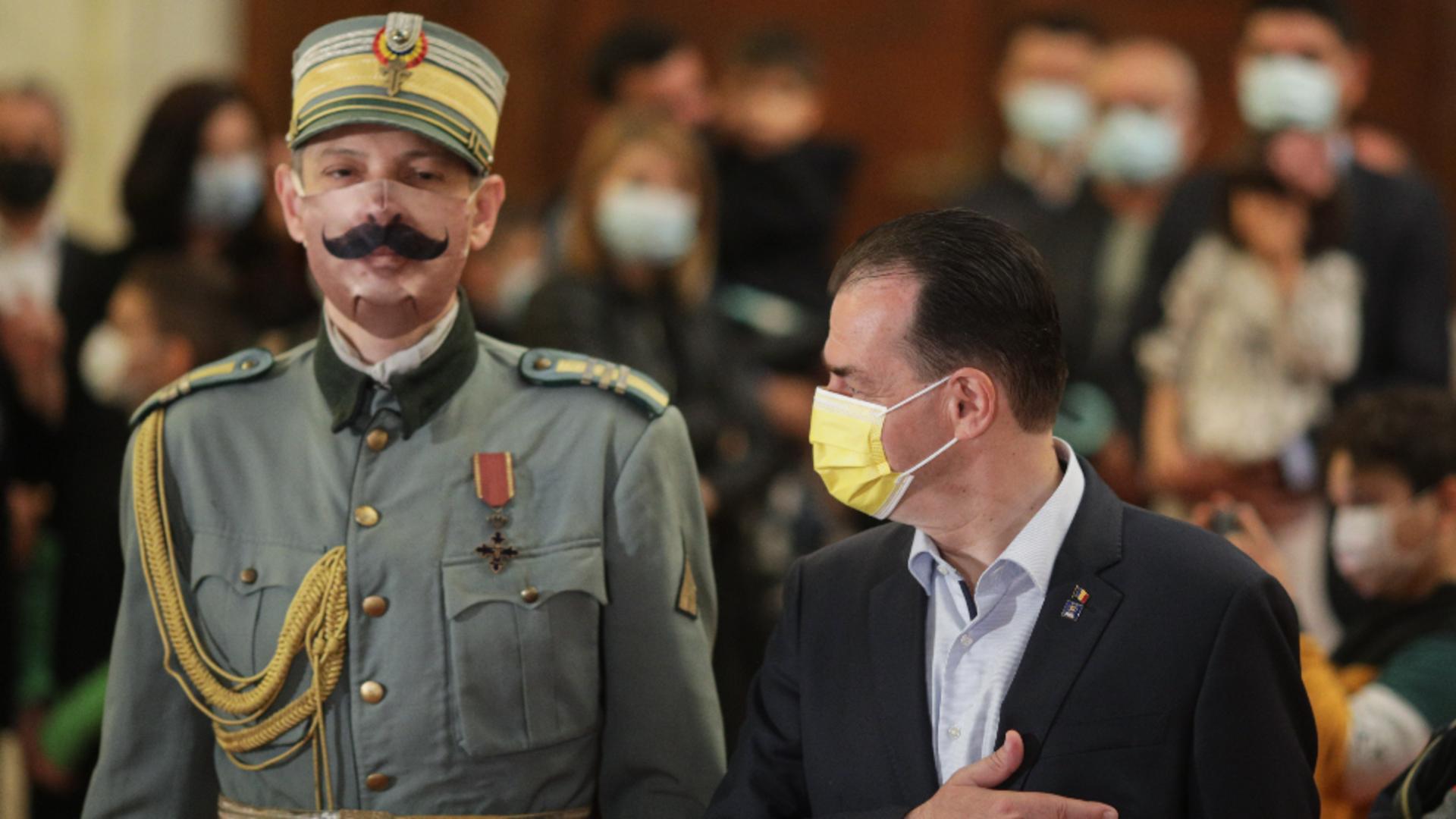 Ludovic Orban, la Ziua porților deschise la Parlament / Foto: Inquam Photos
