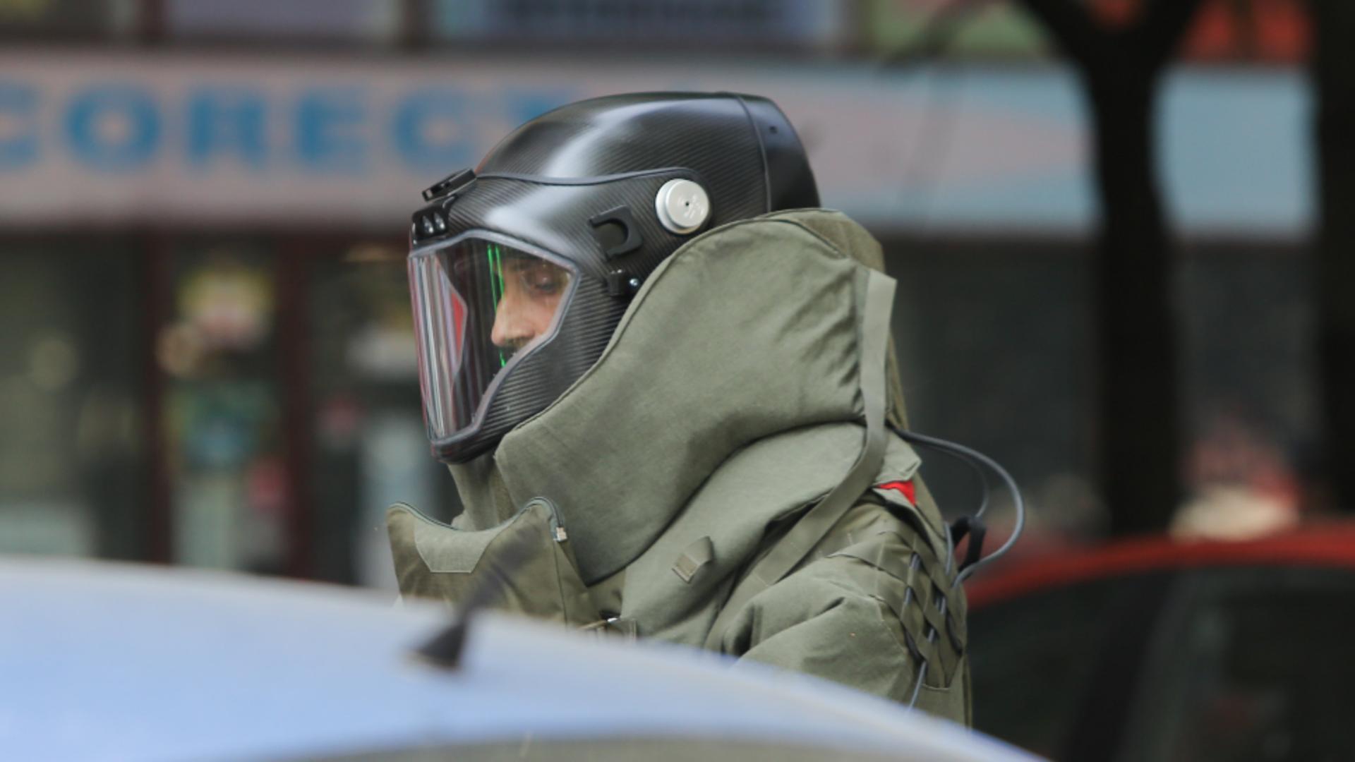 Alertă cu bombă la DGASPC Iași / Foto: Inquam Photos