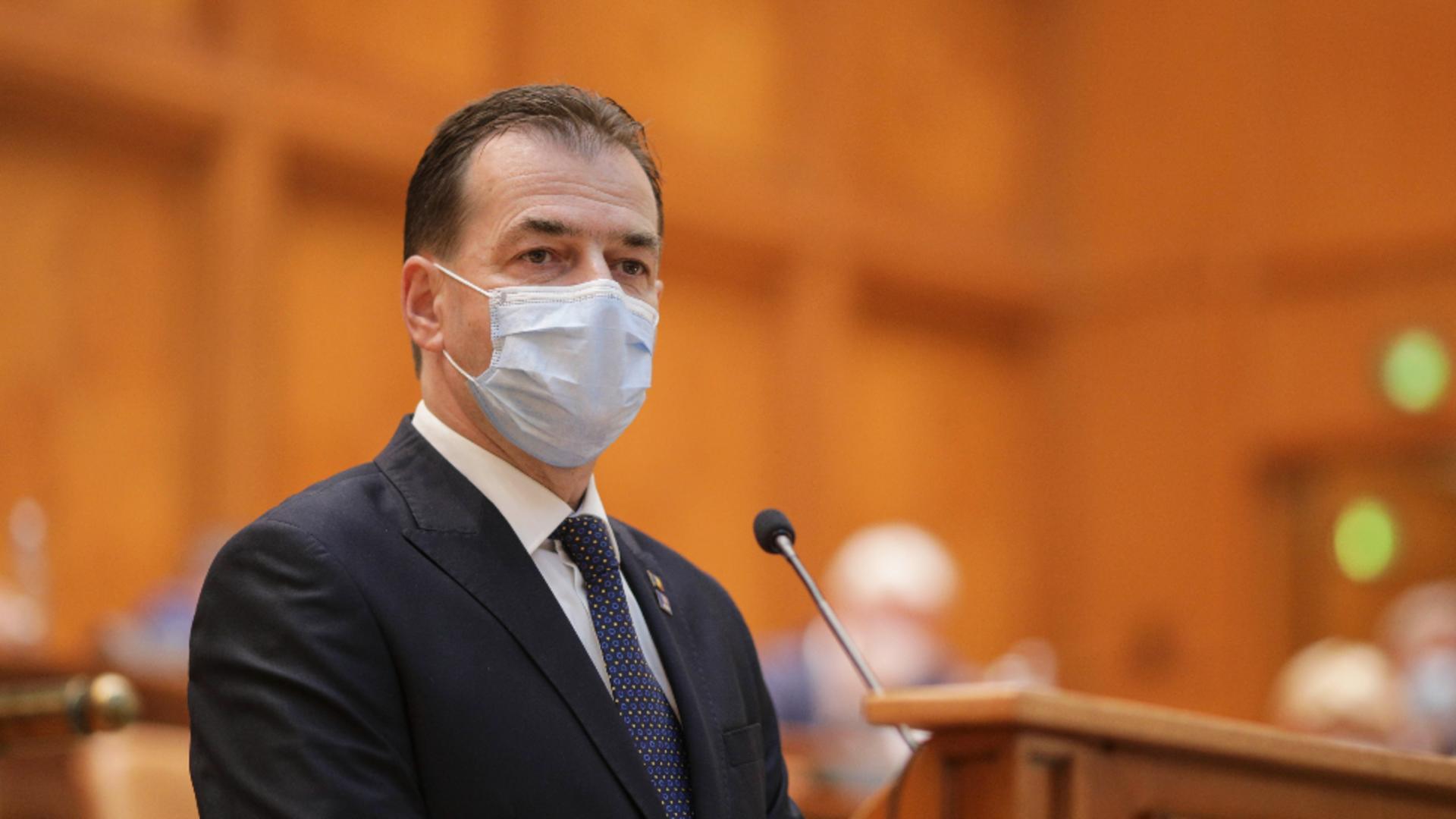 Ludovic Orban, președintele Camerei Deputaților / FOTO: Inquam Photos / Octav Ganea