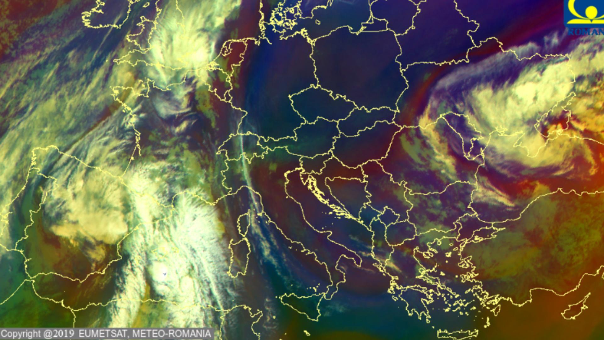 Analiza maselor de aer / Foto: Administrația Națională de Meteorologie (ANM)