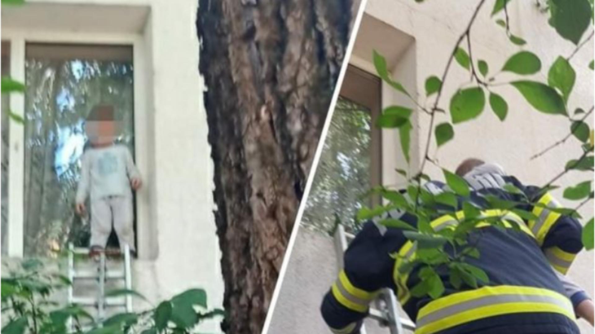 Intervenție pompieri Focșani / Captură foto