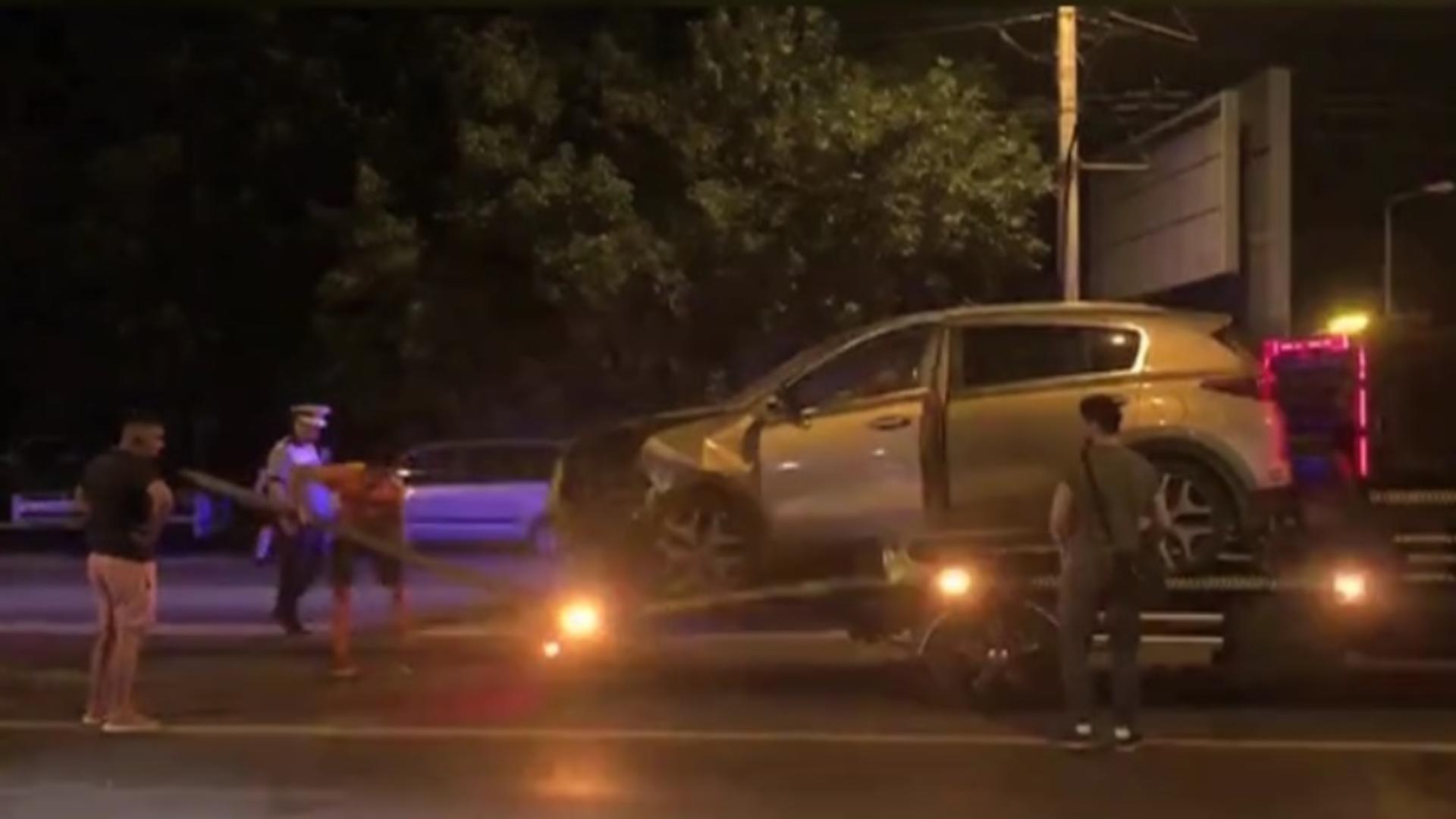Preşedintele FCSB, Valeriu Argăseală, a fost implicat, marți seara, într-un accident rutier