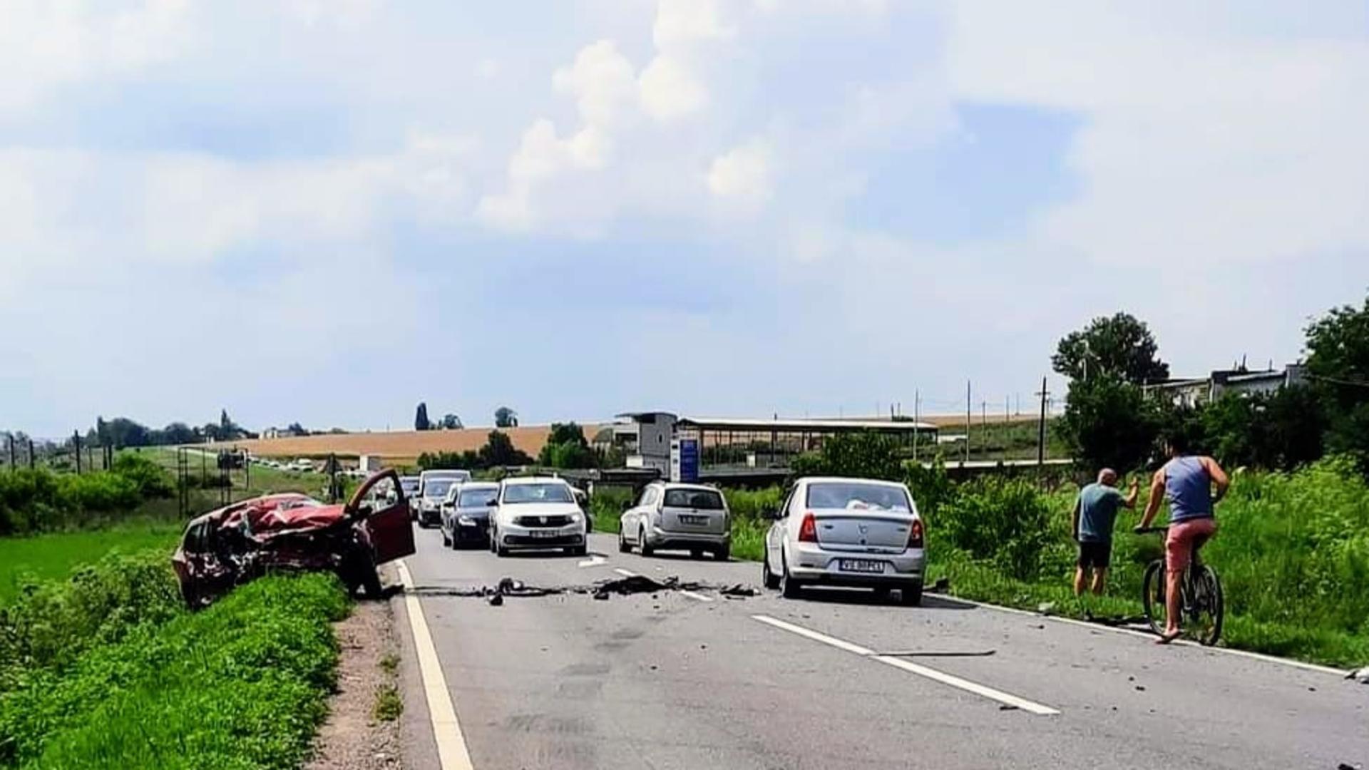 Accident grav în apropiere de Galați