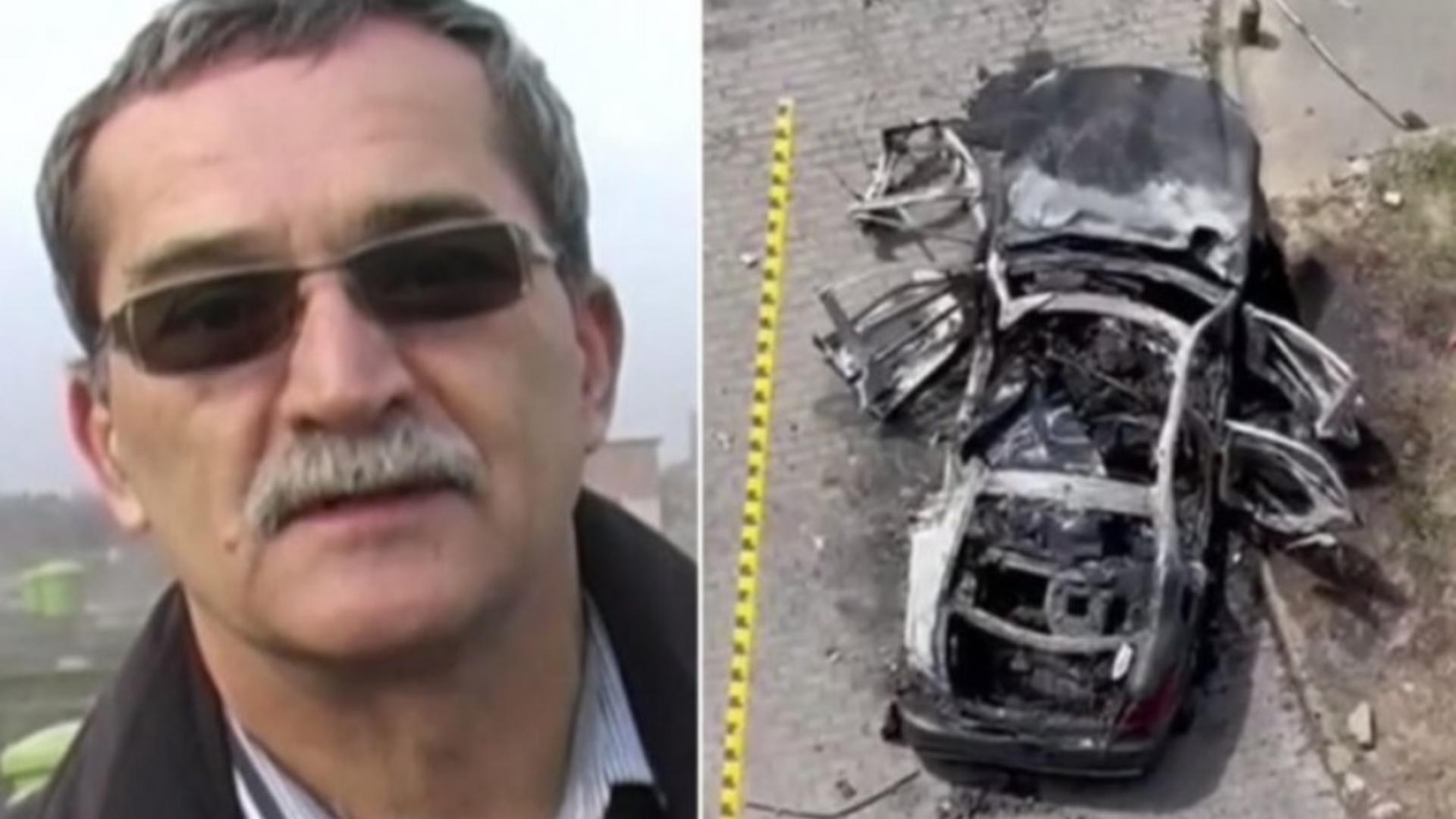 Ion Crișan, mașină explozie Arad
