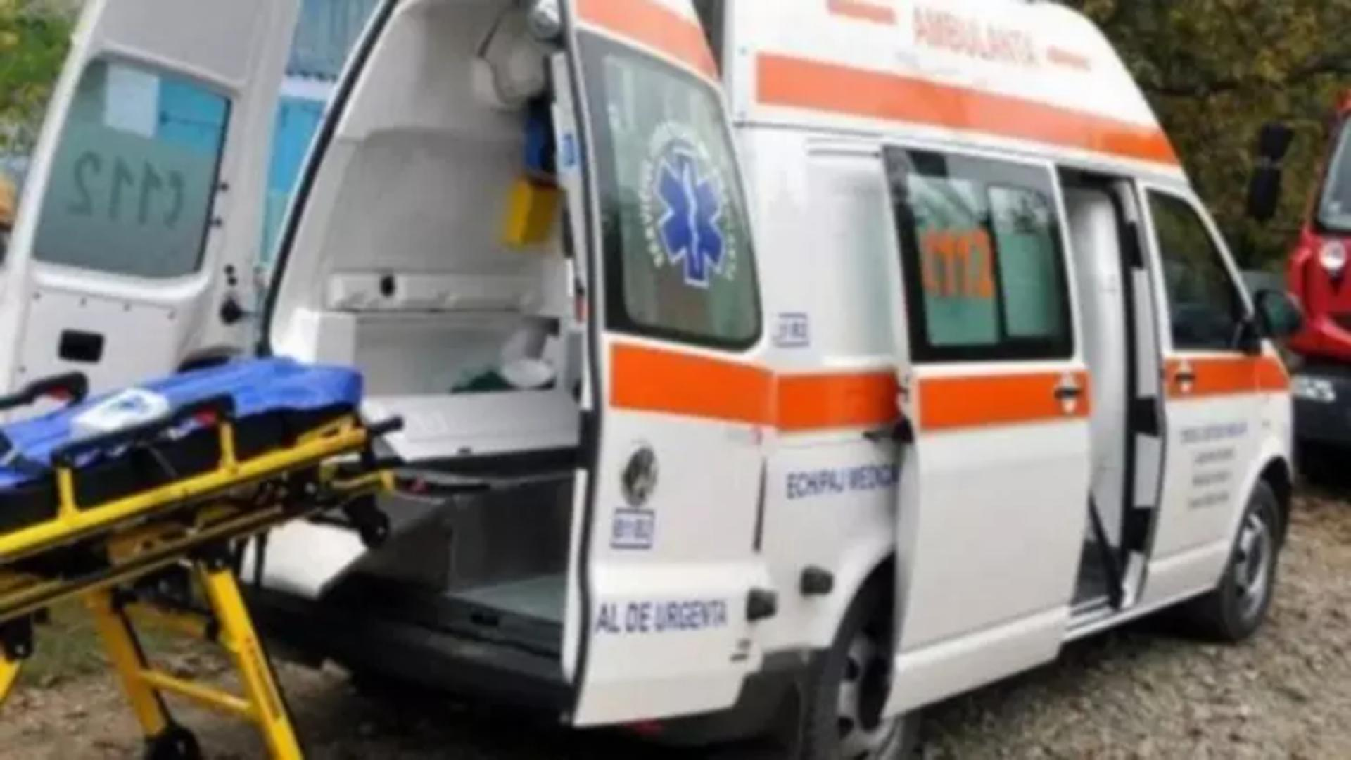 Intervenție ambulanță E581