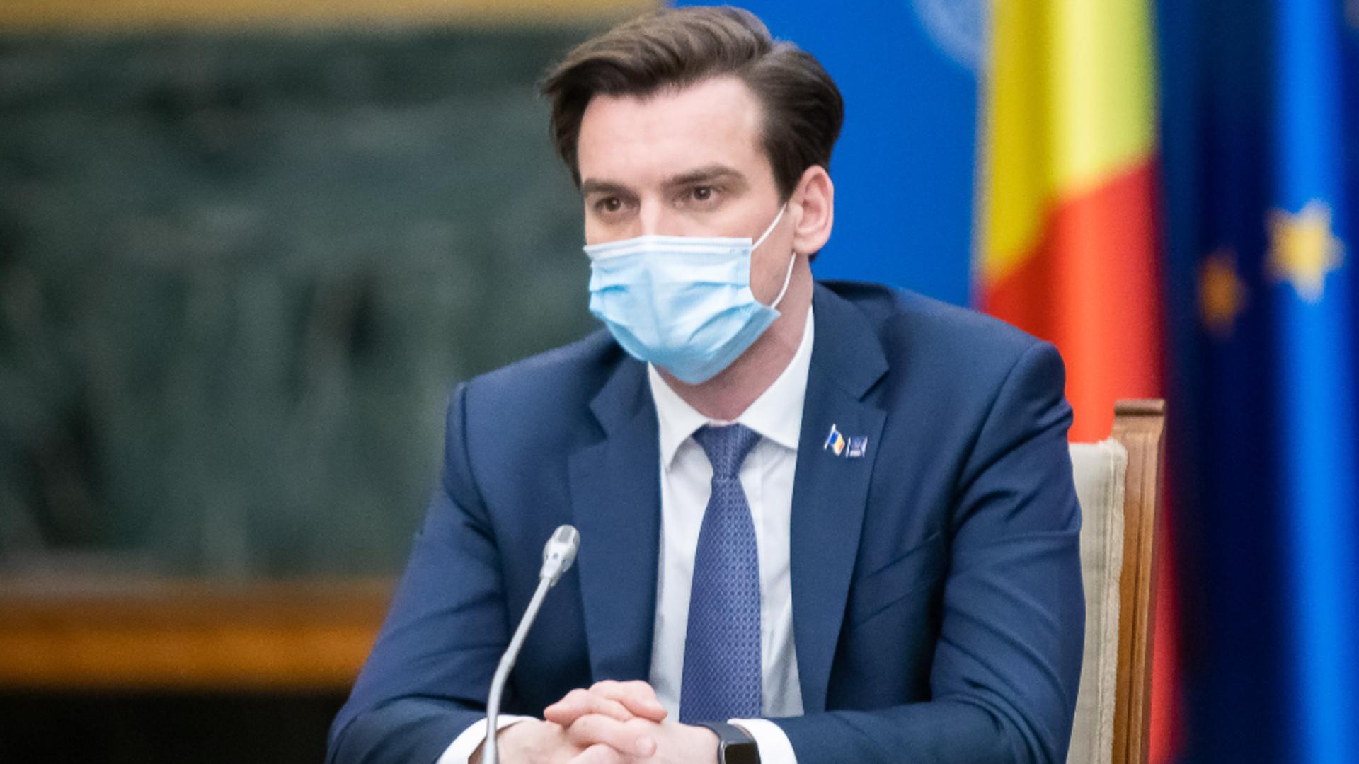 Andrei Baciu - Secretar de stat în Ministerul Sănătății