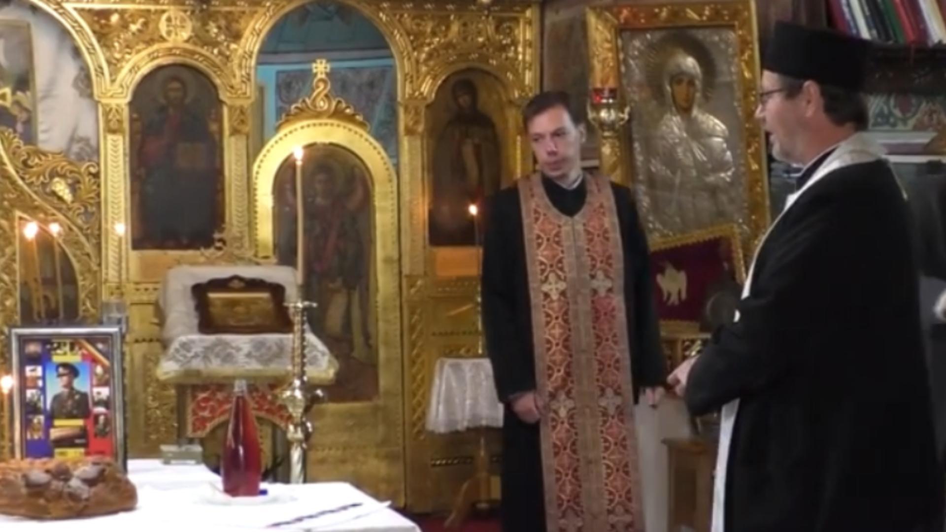 O biserică din Vaslui l-a elogiat pe mareșalul Antonescu - A fost SESIZAT procurorul general Foto: Captură Vaslui TV