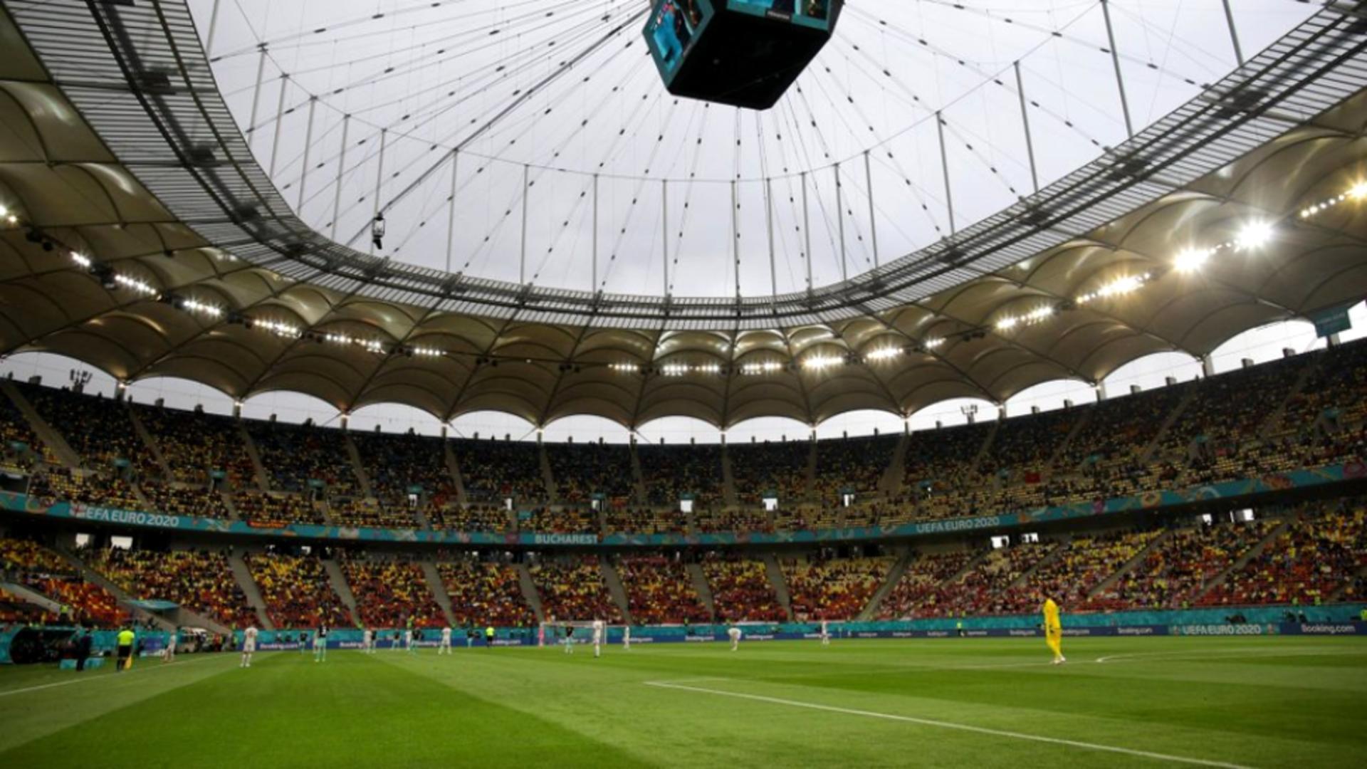 Măsuri sporite la Arena Națională