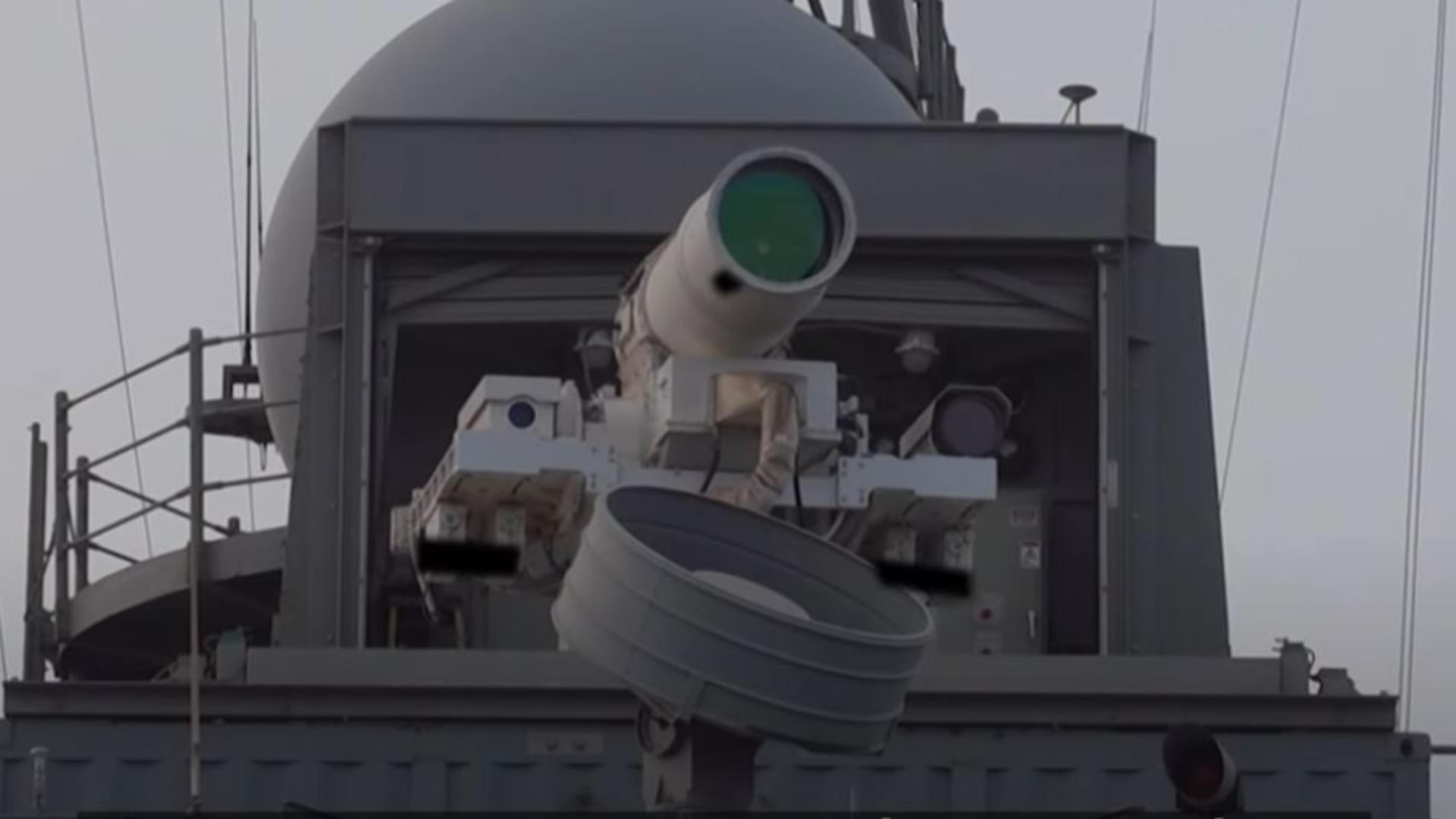 SUA testează arme SF în lupta cu inamicii.Captură video