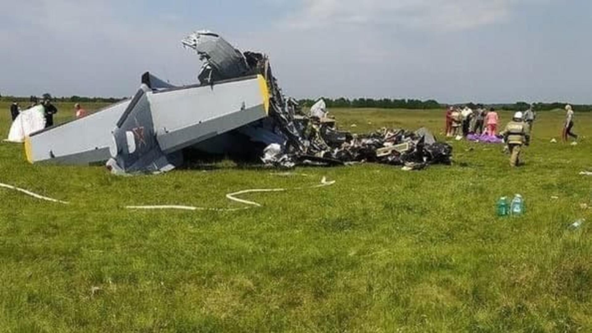 Avion prăbușit în Siberia