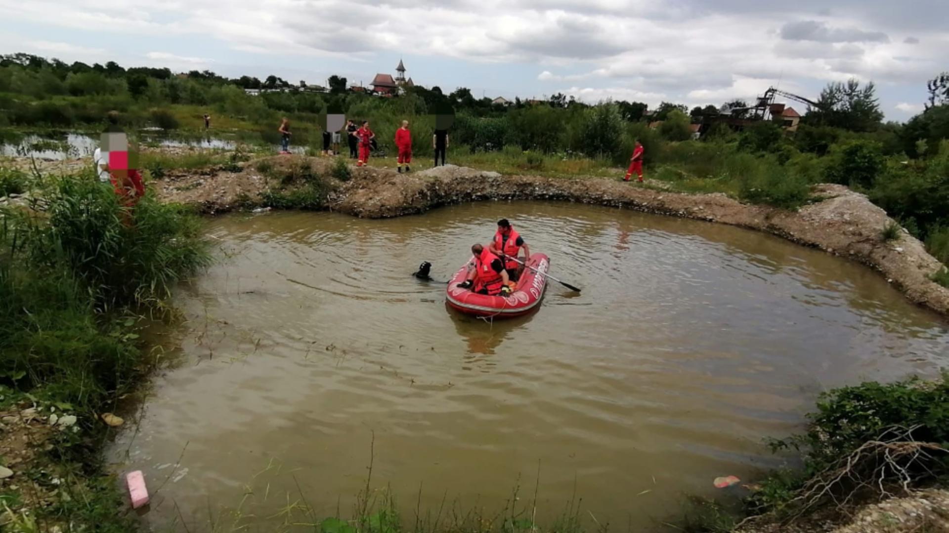 Copil înecat într-o fostă balastieră
